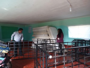 Nous avons financé le nouveau dortoir de l'école Anccaccola