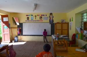 Classe des CP  - Mayubamba - 2016
