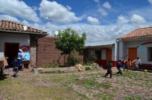 Patio de l'école Picol, 2016