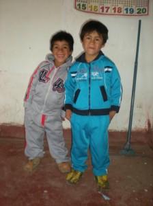 De nouveaux habits pour Abel et Raul