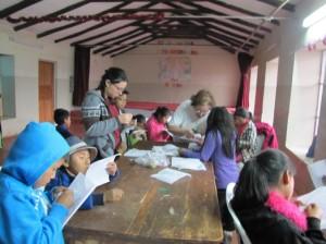 Atelier activités mauelles - Huchuy Yachaq