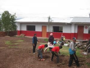 La nouvelle classe est prête à accueillir les élèves de CP (travaux fin 2016)