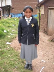Un nouvel uniforme pour Juana Maria