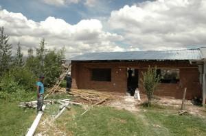 Construction de la nouvelle salle de classe Picol - 2016